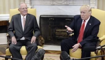 El presidente de Perú, Pedro Kuczynski, y su homólogo de Estados Unidos, Donald Trump, se reunieron en la Casa Blanca.