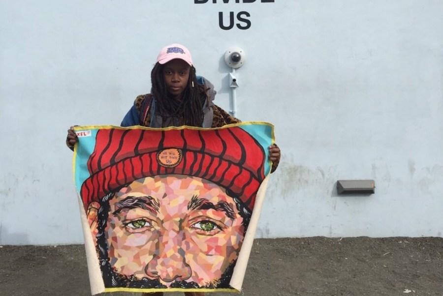 """El proyecto """"He Will Not Divide US"""" (Él no nos va a dividir) fue lanzado el 20 de enero."""