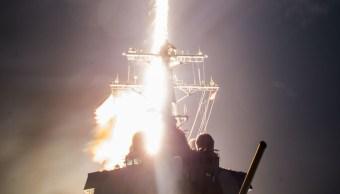 """El sistema """"Block IIA"""" destruyó un misil en pleno vuelo."""