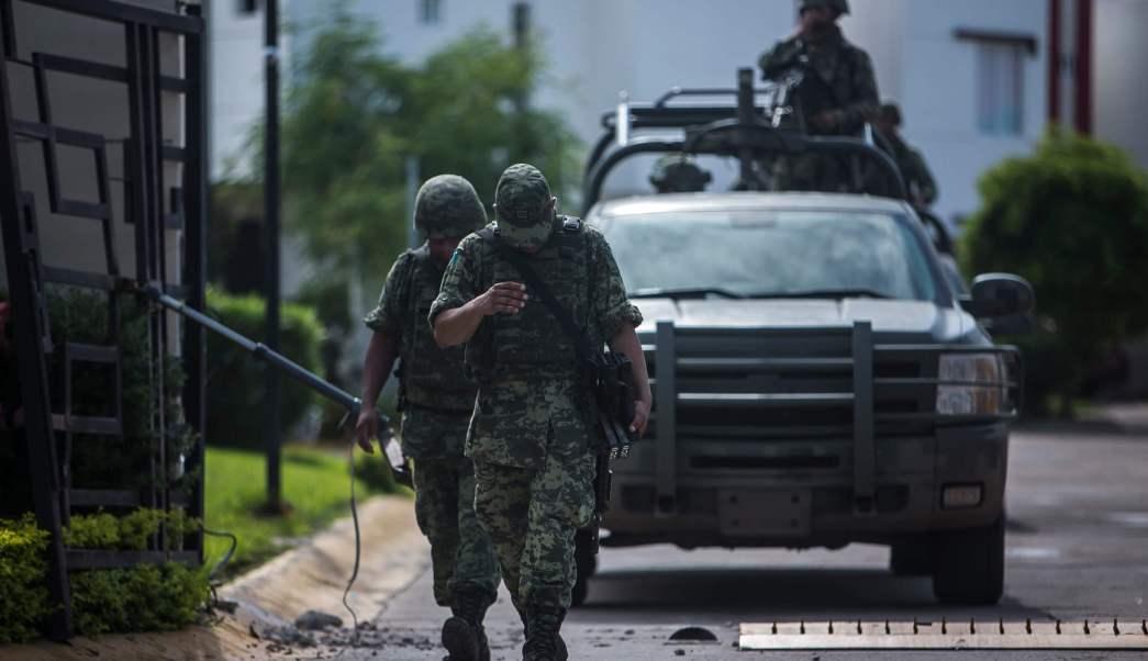 Elementos del Ejército Mexicano