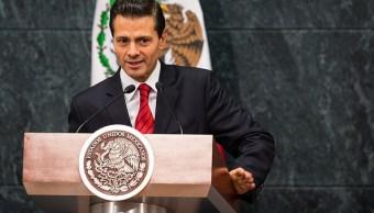 Enrique Peña Nieto, presidente de México. (Getty Images, archivo)