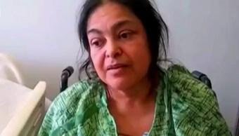 Esther Estrada, mexicana discriminada por el Centro Médico Regional de Anaheim.