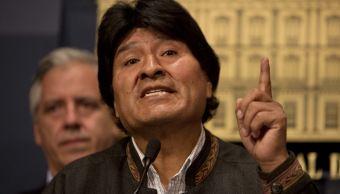 Fotografía que muestra al presidente de Bolivia, Evo Morales. (AP/archivo)