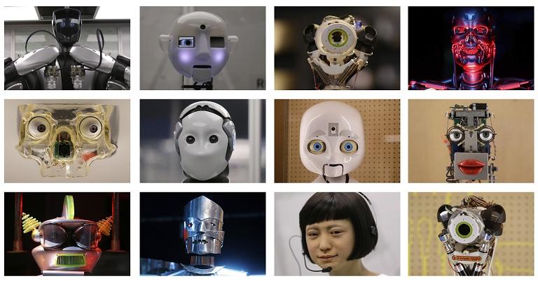 Esta imagen muestra una selección de lo que se apreciará en la exposición 'Robots' realizada en el Museo de Ciencias de Londres (AP)