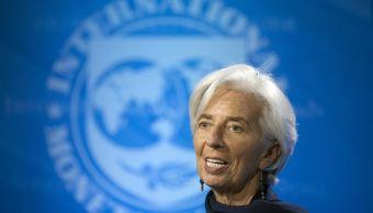 """""""Los planes de Trump de aumentar las inversiones en infraestructura y sus probables reformas fiscales impulsarán la economía de Estados Unidos"""", dijo Christine Lagarde, directora del Fondo Monetario Internacional. (AP, archivo)"""