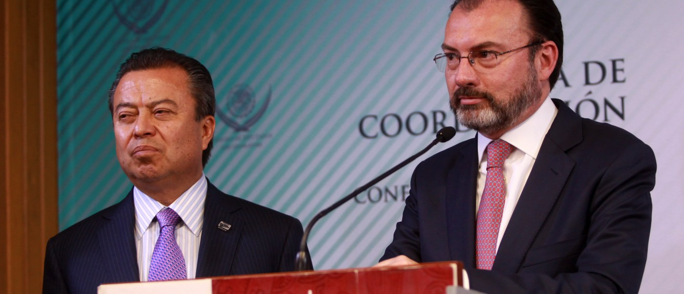 El funcionario federal enfatizó que existe una estrategia para actuar contra las acciones implementadas contra los migrantes (SRE)