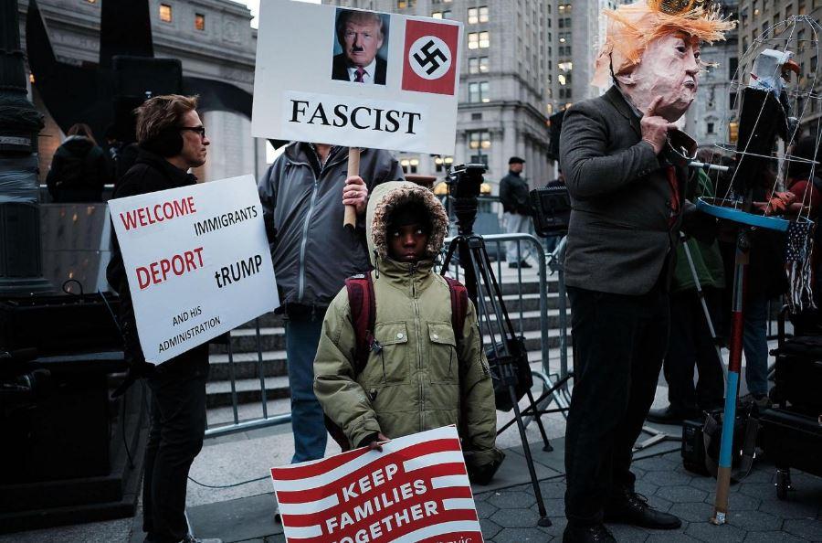 Continúan las protestas en Estados Unidos contra políticas migratorias de Donald Trump