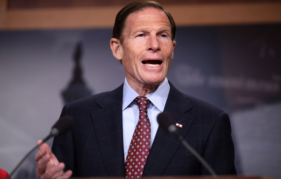 Richard Blumenthal, senador demócrata. (Getty Images, archivo)