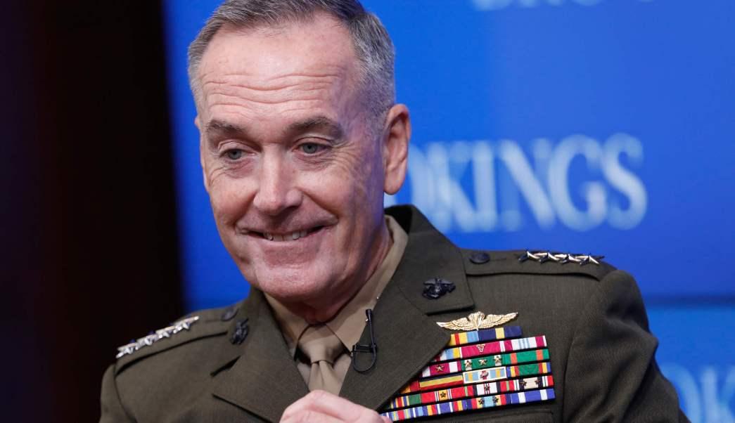 Joseph Dunford, jefe del Estado Mayor Conjunto de Estados Unidos. (Getty Images)