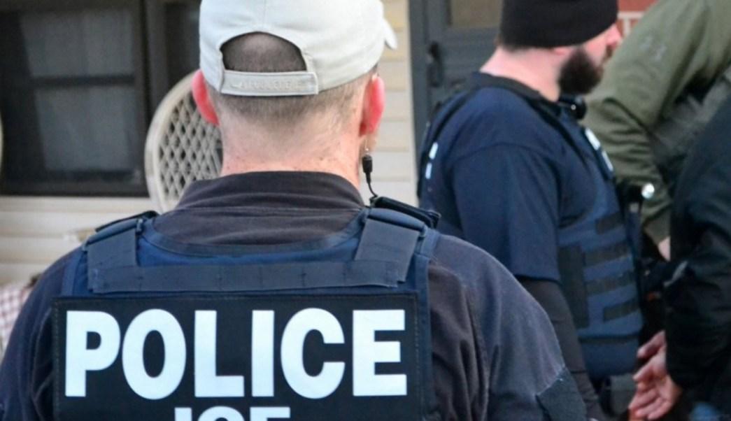 Policías del Servicios de Inmigración de Estados Unidos (Twitter @ICEgov)
