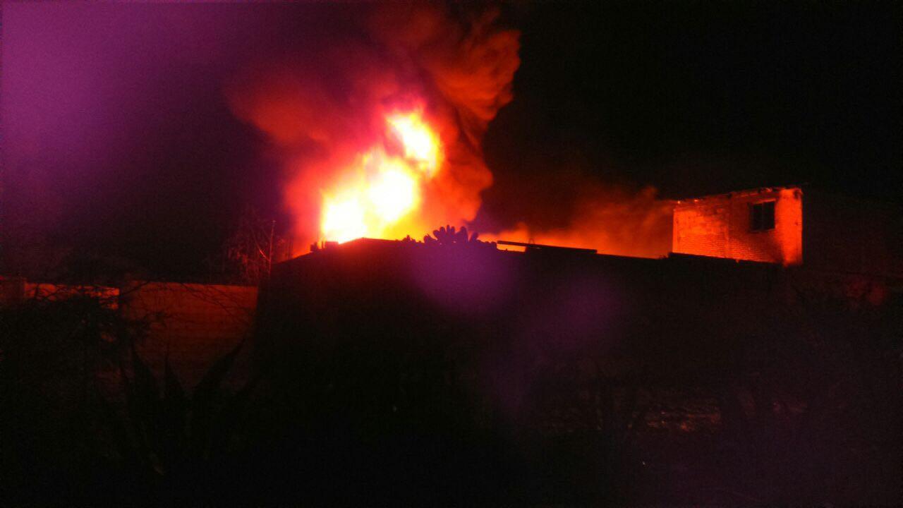 Incendio afecta predio donde almacenan combustible robado en Hidalgo. (Noticieros Televisa)