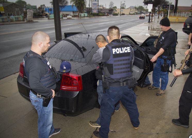 Inmigrantes detenidos en Estados Unidos. (AP/Archivo)