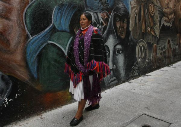 Jacinta Francisco, indígena liberada (AP, archivo)