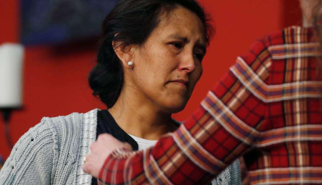 Jeanette Vizguerra, migrante mexicana, se refugia en una iglesia de Denver, Colorado (AP, archivo)