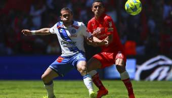 Jerónimo Amione y Osvaldo González en el Toluca 1-3 Puebla de la jornada 8 de la Liga MX