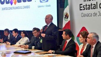 El secretario de Salud visitó la ciudad de Oaxaca para instalar el Consejo Estatal de Salud