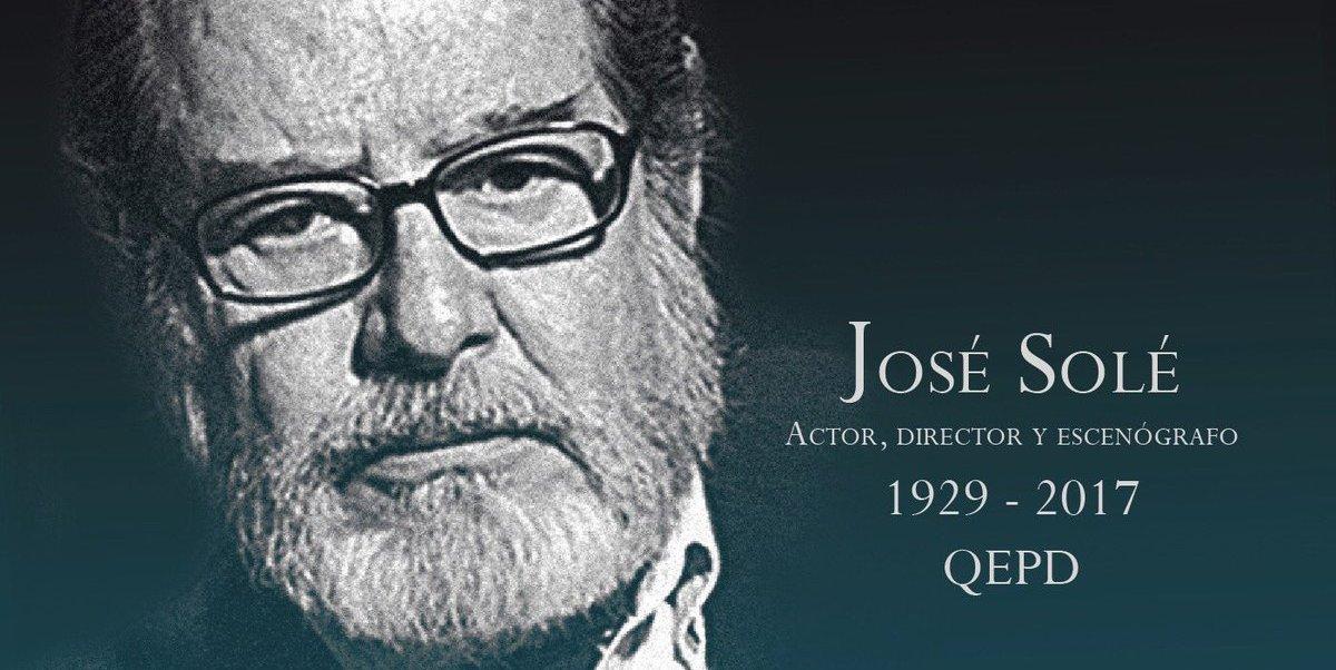 José Solé nació el 28 de julio de 1929 en la Ciudad de México.