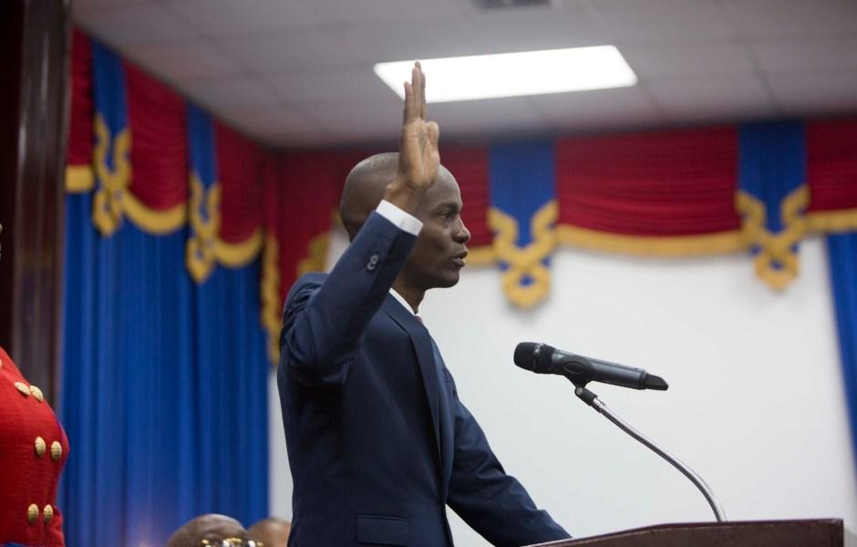 Jovenel Moïse, presidente de Haití. (AP)