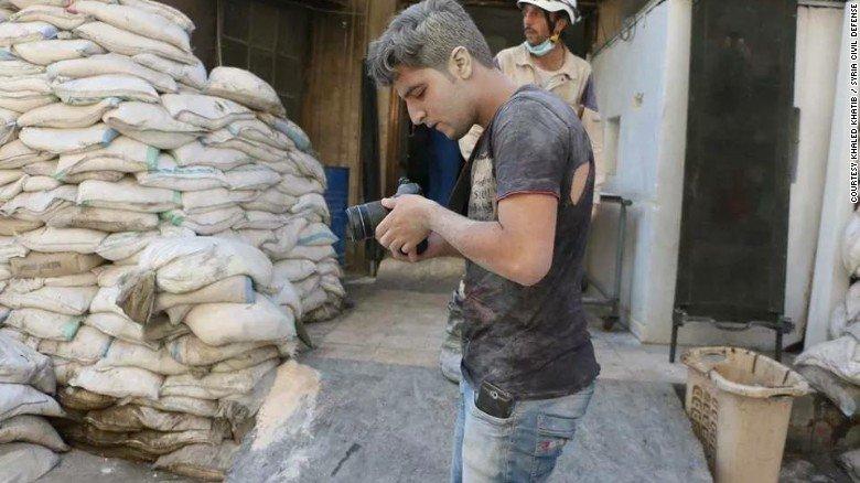 Khaled Khatib, cinematógrafo sirio.