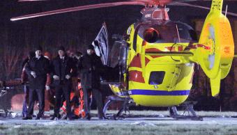La primera ministra de Polonia, Beata Szydlo, fue trasladada al hospital en helicóptero.