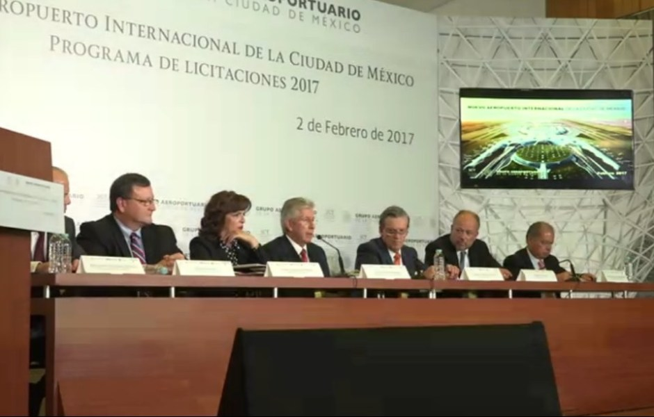 Mensaje del secretario Gerardo Ruiz Esparza durante la Presentación del Programa de Licitaciones 2017 del NAICM.