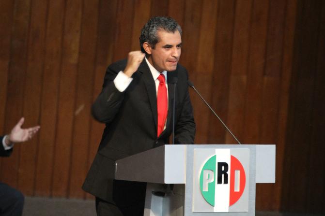 Enrique Ochoa Reza, presidente nacional del PRI (Notimex/Archivo)