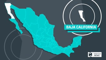 Mapa de Baja California (Noticieros Televisa)