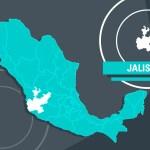 Reportan sismo de 5.9 grados en Jalisco