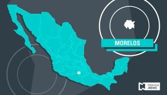 Un enfrentamiento en Temixco, Morelos, ocurre por un decomiso de armas a civiles por parte de elementos policiacos; hay tres personas muertas y una detenida.(Noticieros Televisa)