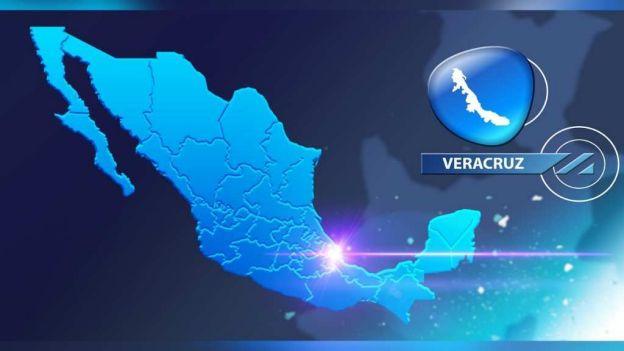 Mapa de Veracruz (Noticieros Televisa)