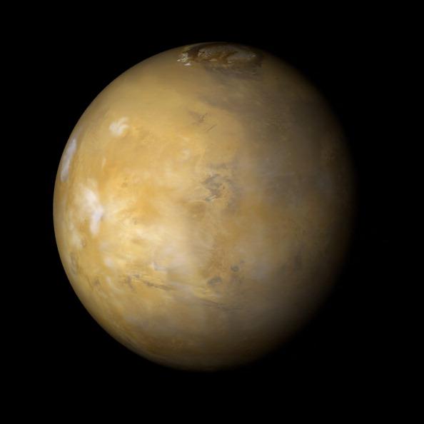 Vista de la superficie de Marte; el Museo de Historia Natural de la Ciudad de México invita a una velada para ver este planeta (Getty Images, archivo)