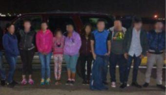 Policía Federal rescata a 30 migrantes centroamericanos en Coahuila