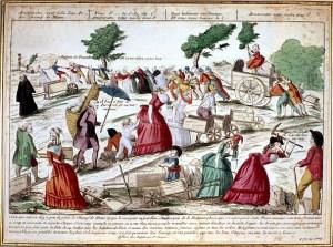 La participación de las mujeres en la Revolución Francesa fue muy importante (Getty Images)