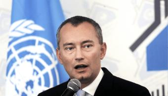 Nickolay Mladenov, enviado de Naciones Unidas para Oriente Medio. (AP)