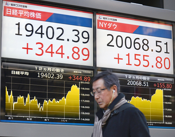 Ganancias corporativas impulsan la Bolsa de Tokio (Getty Images)