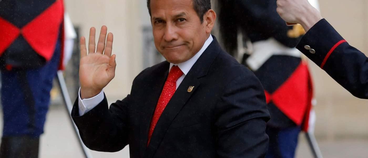 Ollanta Humala, expresidente de Perú