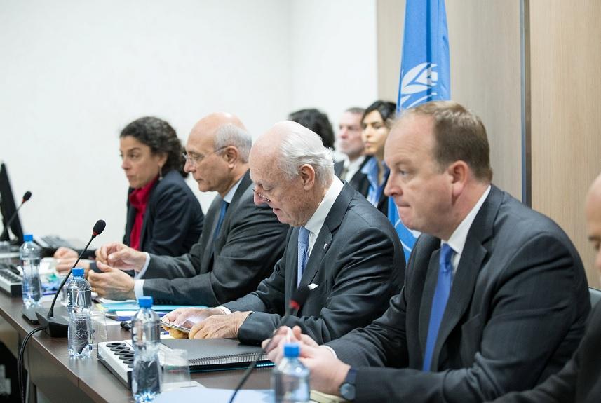 Una reunión de conversaciones de paz en Siria en Ginebra, Suiza (Reuters)