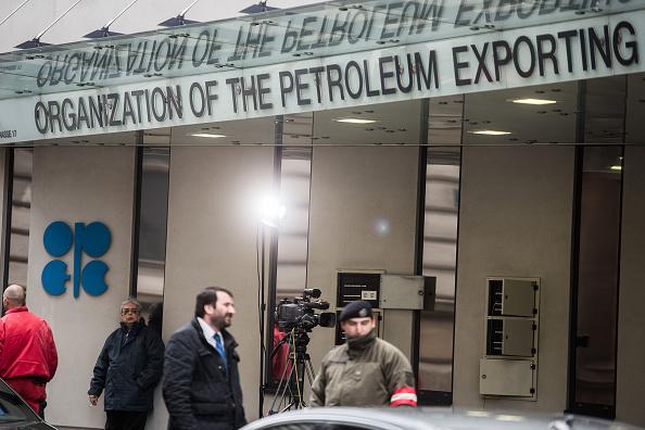 Logotipo de la Organización de Países Exportadores de Petróleo (OPEP) (Getty Images)