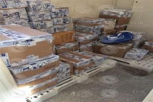 La PGR catea un inmueble en la colonia Del Valle, Ciudad de México; asegura más de 100 mil instrumentos odontológicos falsificados