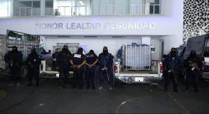 SSP de Puebla detiene a dos policías municipales por robo de hidrocarburo