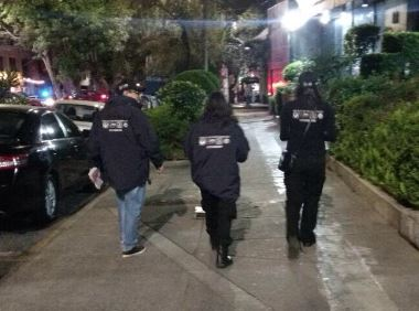El operativo fue encabezado por agentes de la Policía de Investigación (PDI) (Twitter @PGJDF_CDMX)