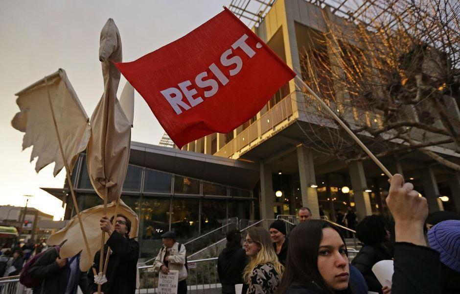 Protesta en la Universidad de California