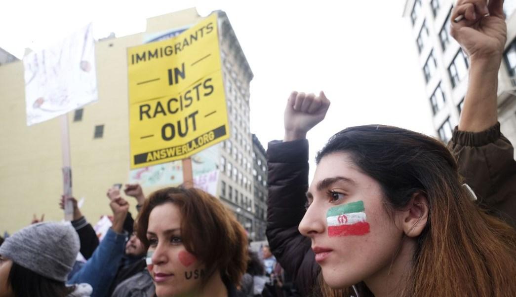 Protesta en Los Angeles en contra de actos de racismo (AP, archivo)