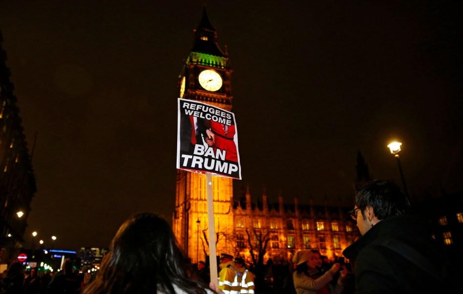 Protestas en el mundo contra las políticas migratorias de Donald Trump (AP)