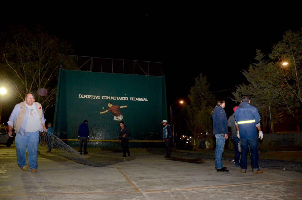 Recupera Gobierno de la CDMX deportivo en Tlalpan. (Secretaría de Gobierno de la CDMX)