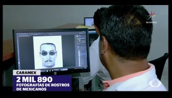 Caramex y Animetrics son los sofware con el que trabajan los peritos de la PGR. (Noticieros Televisa)