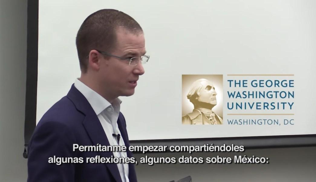 En lugar de un muro fronterizo, México y Estados Unidos requieren desarrollar una relación de confianza, aseguró Anaya. (Youtube: Ricardo Anaya)