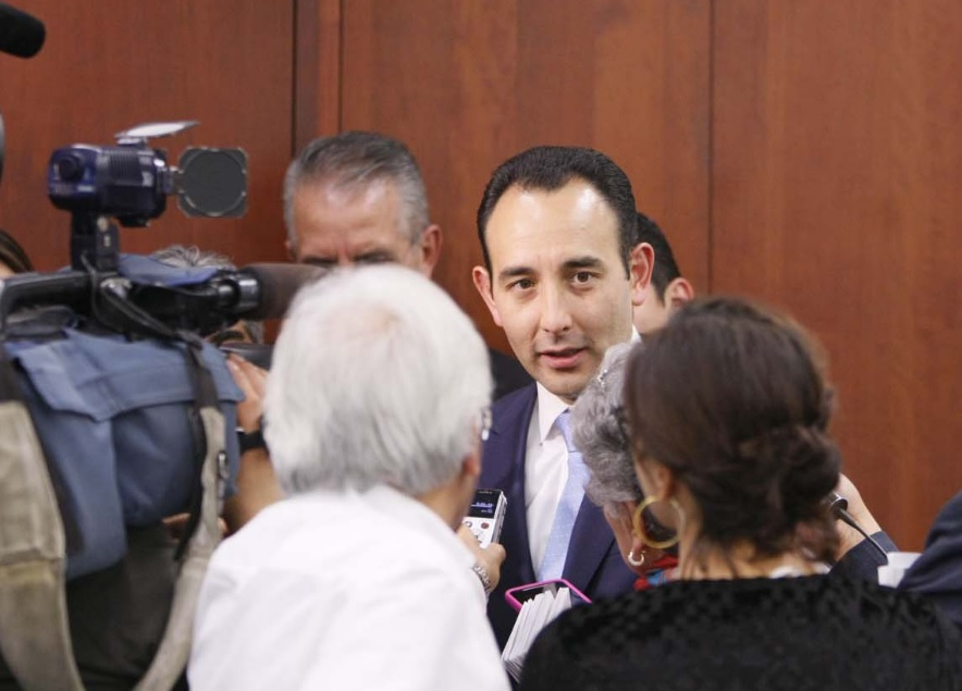 El senador del PAN, Roberto Gil Zuarth