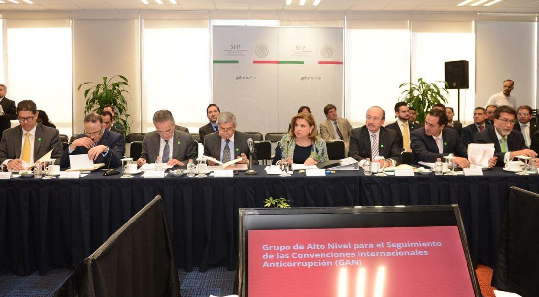 Somos uno de los países con uno de los sistemas anticorrupción más robustos y avanzados', apuntó, Arely Gómez.
