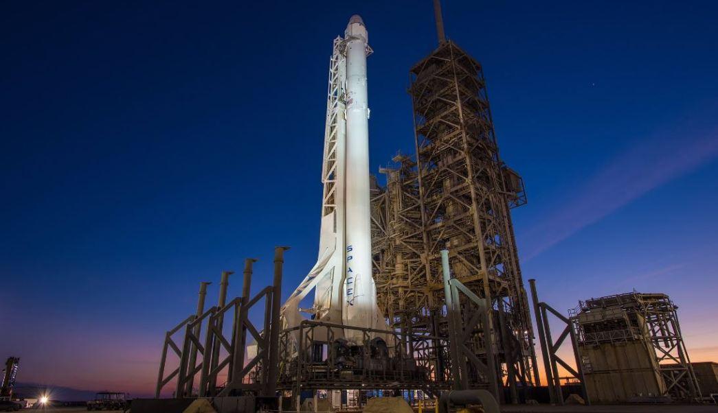 El cohete transportará una cápsula de carga para la Estación Espacial Internacional (Twitter @SpaceX)